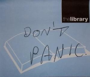 post it don't panic