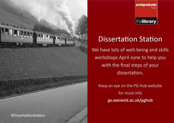 Dissertation Station Poster