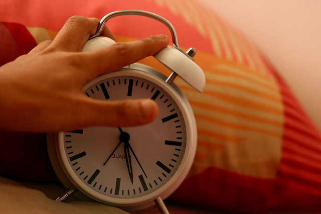 Alarm Clock by Phalinn Ooi CC BY 2.0