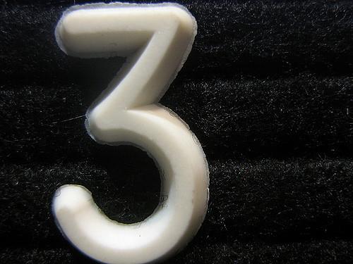 three by Jonathan Brodsky CC BY 2.0