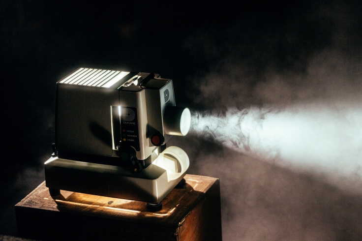 Image of a film projector